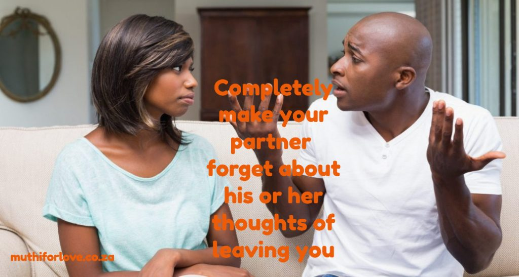 Muthi to save my marriage or relationship from breaking up