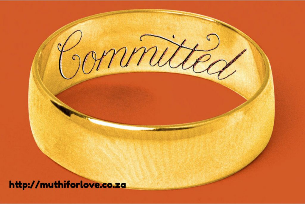 Muthi to make him commit to you
