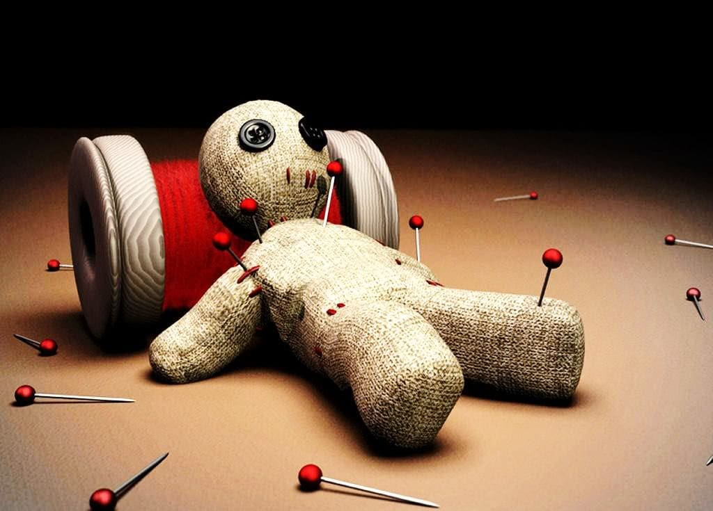 Voodoo doll to control someone