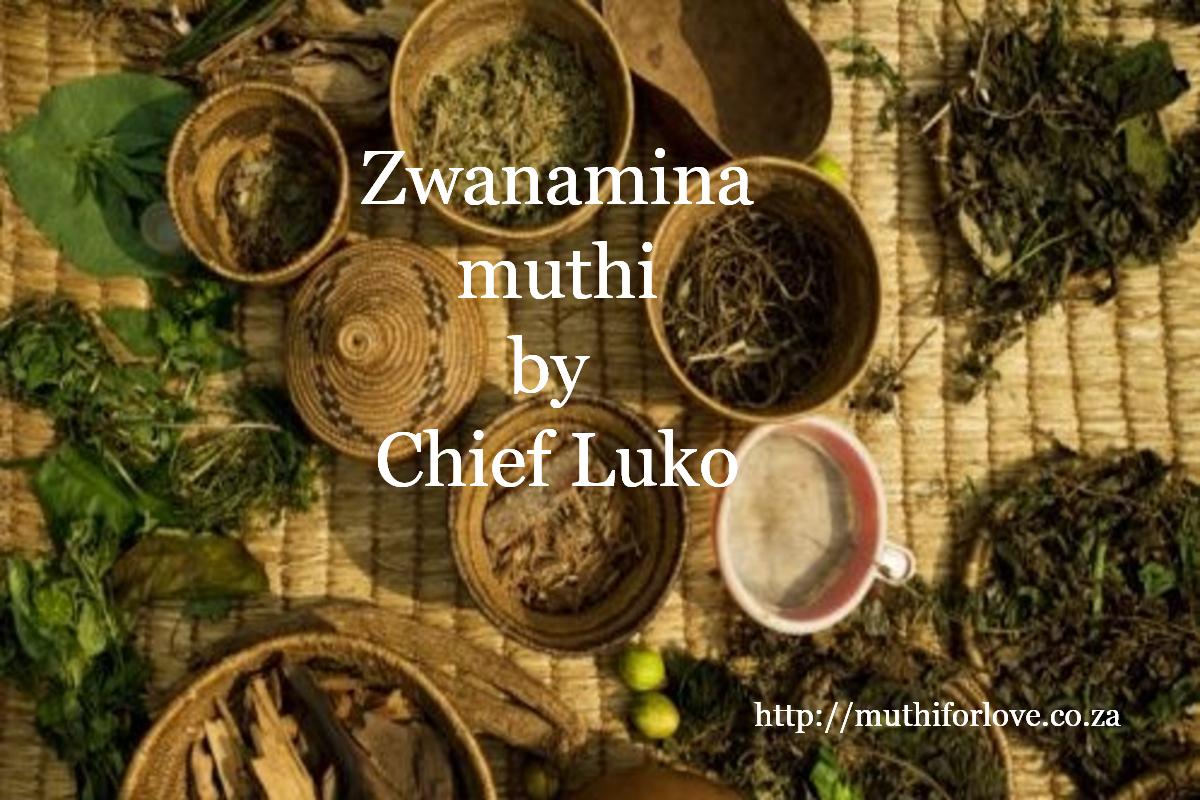 Zwanamina muthi